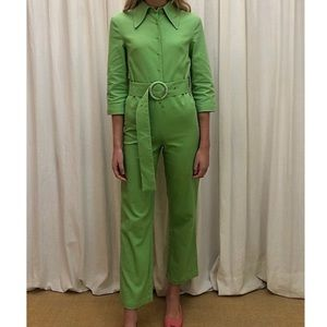 House of Sunny - Grass Green Coveralls 💚